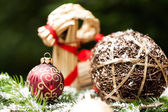 Baubles and craft — Stock Photo