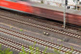 Fast moving train — Foto Stock