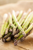 Healthy green asparagus spears — Stock Photo
