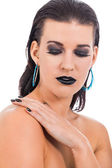 Woman in glamour makeup — Foto de Stock