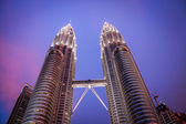The Petronas Towers — Stock Photo
