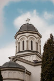 Christian church in Byzantine style from Romania — Stock Photo