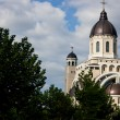 Ascension Cathedral in Bacau Romania — Stock Photo