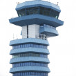 Otopeni  airport control tower Romania — Stock Photo