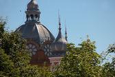 Auf dem dach von rumänischen synagoge — Stockfoto