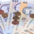 Romanian money close view — Stock Photo