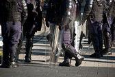 Fuerzas de seguridad pública de escena — Foto de Stock