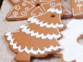 Gingerbread tree — Stock Photo