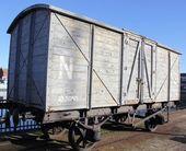Vintage train carriage — Stock Photo