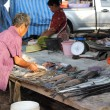 Thailand fish market — Stock Photo
