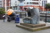 Gunwharf quay — Stock Photo