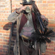 Stock Photo: Chimney sweep