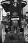 Vintage steam engine — Stock Photo