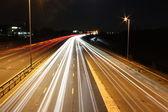 Ночное движение — Стоковое фото