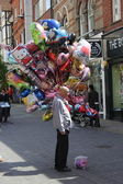 Balloon seller — Stock Photo