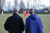 местные футбольные — Стоковое фото