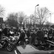 Foto de Stock  : Old retro classic cars & motorbikes