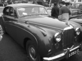 Old retro classic cars — Stock Photo