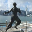 Bruce lee in Hongkong — Stock Photo