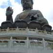 Tian Tan Buddha statue, Hongkong — Stock Photo