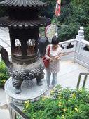 Po lin klasztor, hongkong — Zdjęcie stockowe