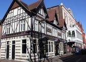 Tudor style architecture — Stock Photo