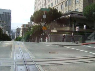 Cable car,San francisco — Stock Video