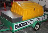 Industrial Emergency spill kit — Stock Photo