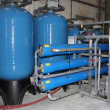 Stock Photo: Industrial boiler water plant