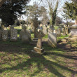 English  graveyard — Foto Stock