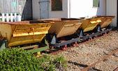 鉄道石炭陸揚設備 — ストック写真