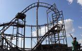 Old fairground ride — Stock Photo