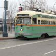 The trams of San Francisco — Stock Photo