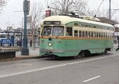 Le tramway de san francisco — Photo