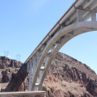 The Hoover dam bye-pass bridge — Stock Photo