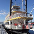 Stock Photo: Paddle steamer