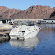 Stock Photo: Lake Mead marina