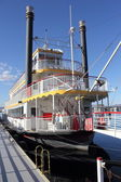 Paddle steamer — Stock Photo