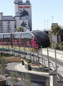 The Las Vegas monorail — Stock Photo