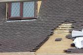 Roof repairs — Stock Photo