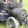 Vintage steam engine - Foto Stock