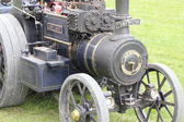 Vintage steam engine — Stock Photo
