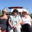 English ladies on a Boat trip — Stock Photo
