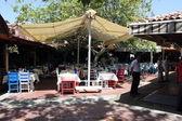 Bistro and bazaars — Stock fotografie