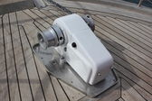Electric anchor winch — Stockfoto
