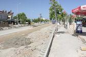 Obras rodoviárias turcas — Fotografia Stock
