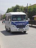 Traditional dolmus transport of Turkey — Stock Photo