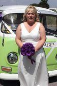 Vw bruiloft van — Stockfoto