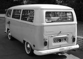Vw wedding van — Stockfoto