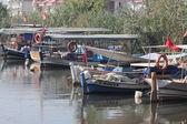 Rybářské lodě — Stock fotografie